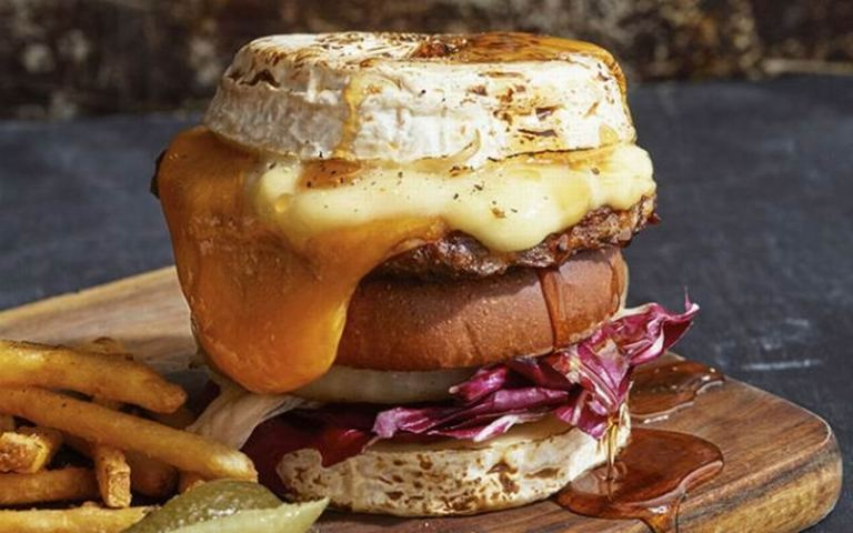 es krim cheeseburger